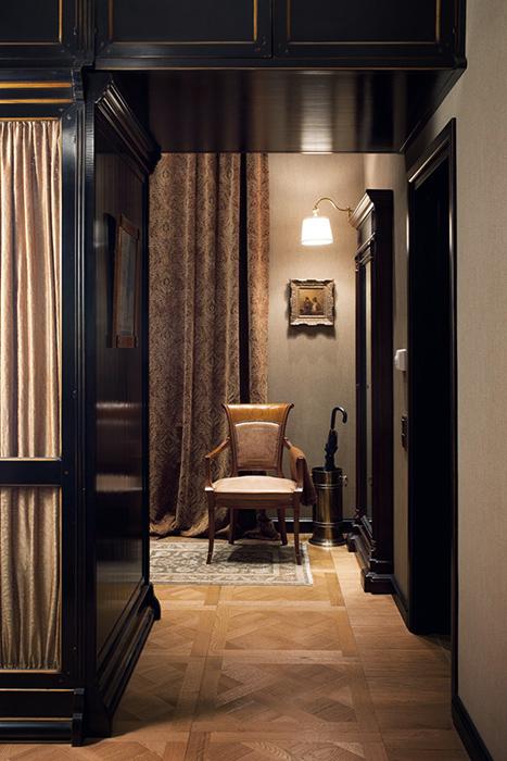 интерьер гардеробной - фото № 35963