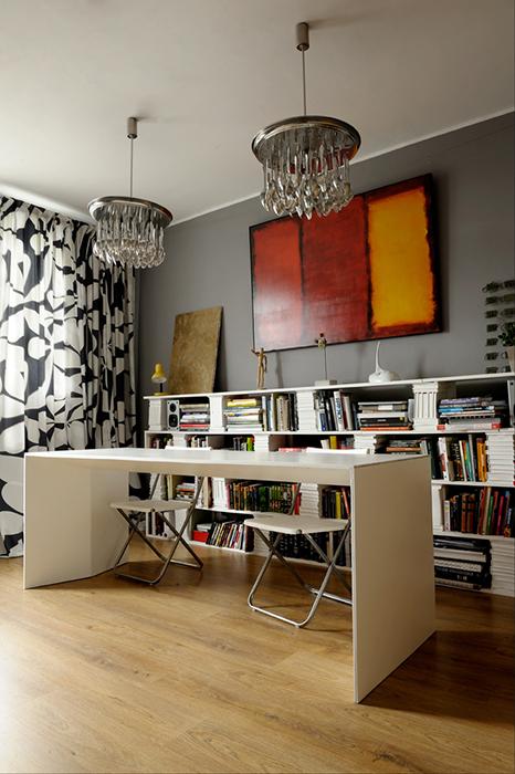 Квартира. кабинет из проекта , фото №35987
