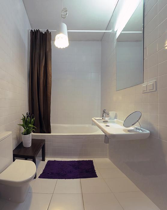 Квартира. ванная из проекта , фото №35992