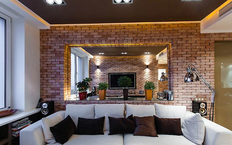 Квартира. гостиная из проекта , фото №36092