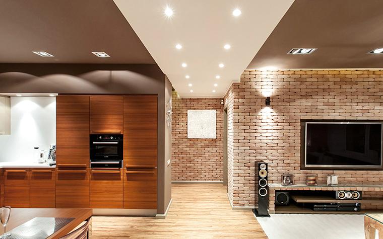 Квартира. гостиная из проекта , фото №36091