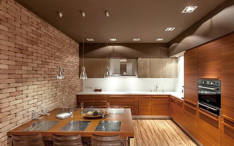 Квартира. кухня из проекта , фото №36105