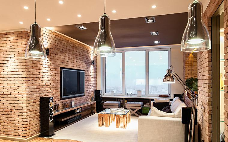 Квартира. гостиная из проекта , фото №36088