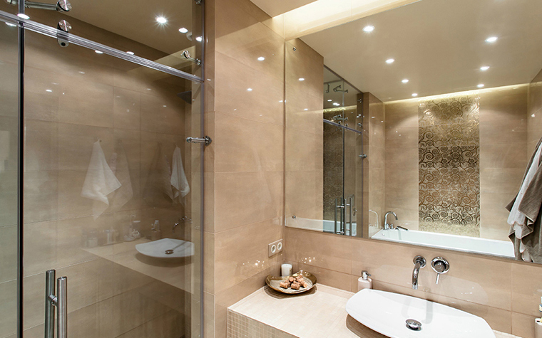 Квартира. ванная из проекта , фото №36097