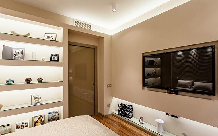 Квартира. спальня из проекта , фото №36093