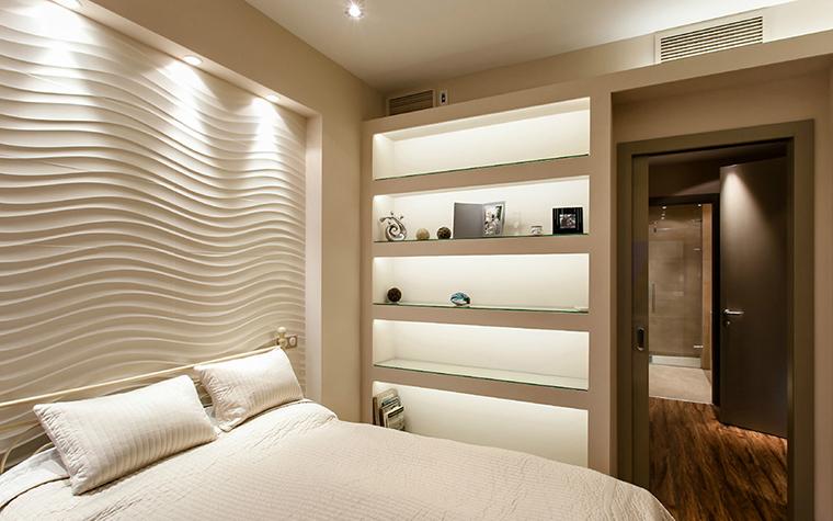 Квартира. спальня из проекта , фото №36094