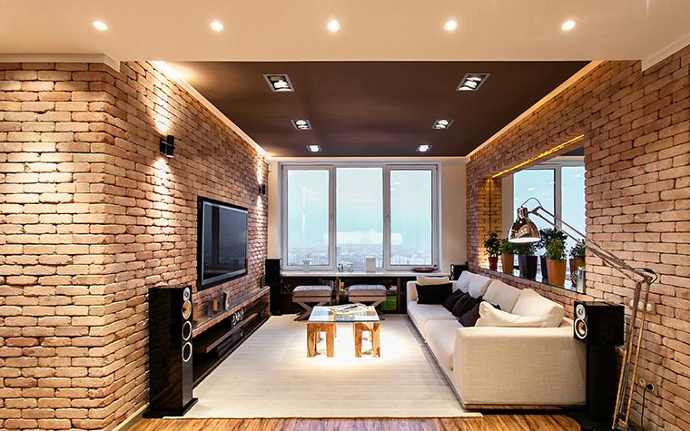 Квартира. гостиная из проекта , фото №36089
