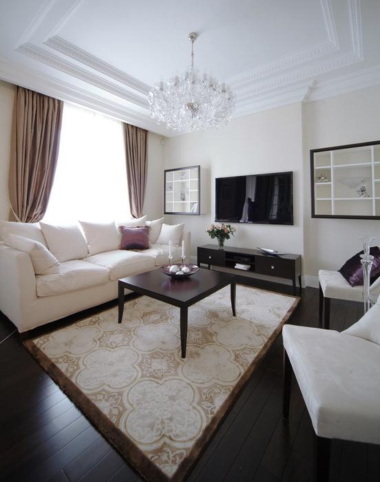 Квартира. гостиная из проекта , фото №36172