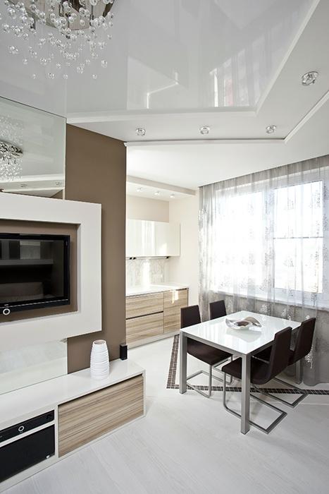 Квартира. столовая из проекта , фото №36189