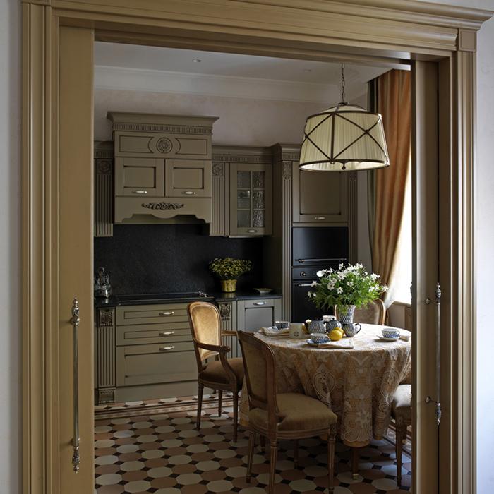 Фото № 36251 кухня  Квартира