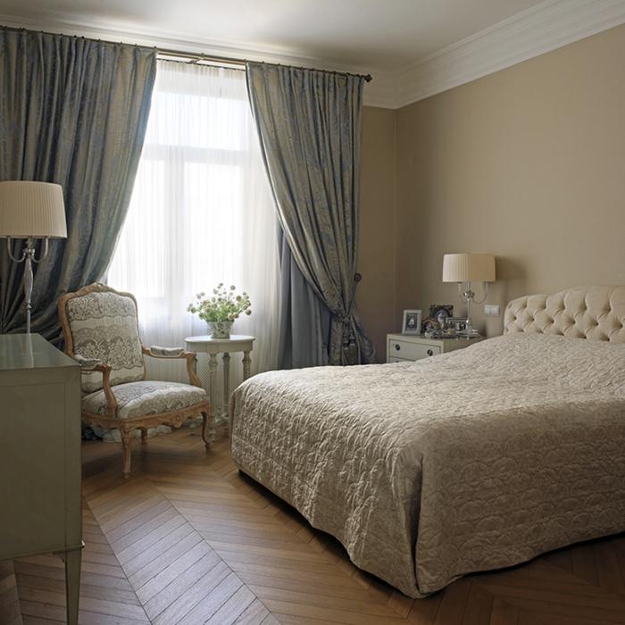 Квартира. спальня из проекта , фото №36253