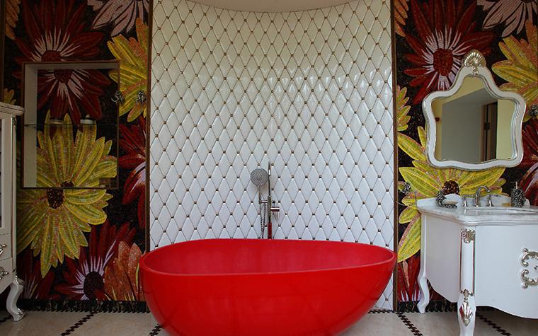 Квартира. ванная из проекта , фото №36264