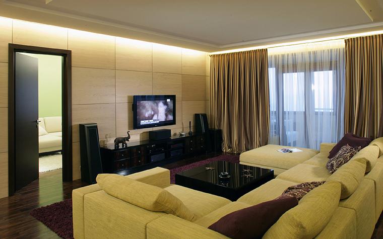 интерьер гостиной - фото № 36322