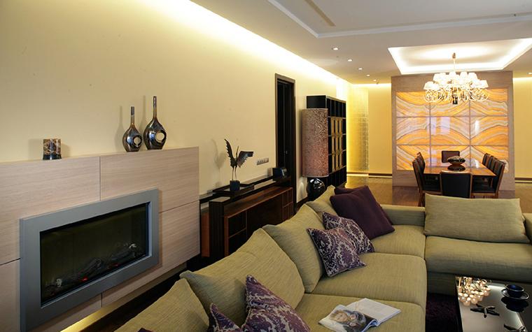 Квартира. гостиная из проекта , фото №36323