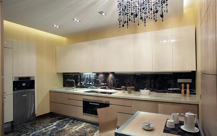 Квартира. кухня из проекта , фото №36328