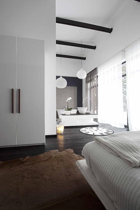интерьер спальни - фото № 36412