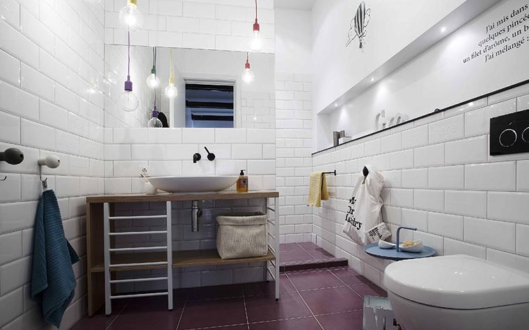 Дизайн ванной в сером цвете: особенности оформления, фото 37