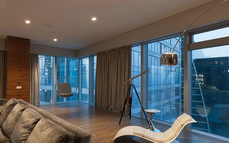 интерьер гостиной - фото № 36394