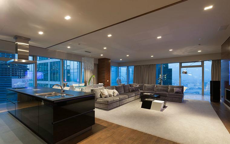 интерьер гостиной - фото № 36395
