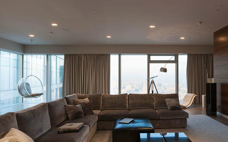 интерьер гостиной - фото № 36393