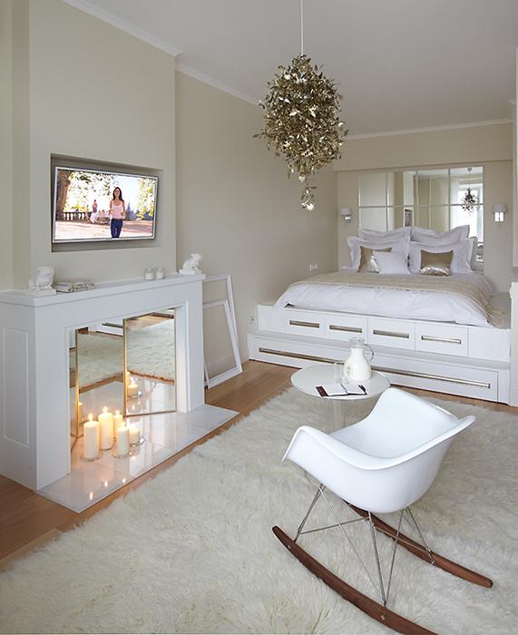 интерьер спальни - фото № 36433