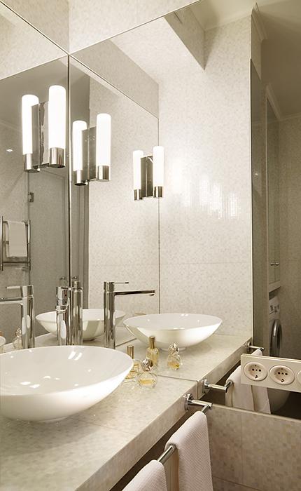 Квартира. ванная из проекта , фото №36446
