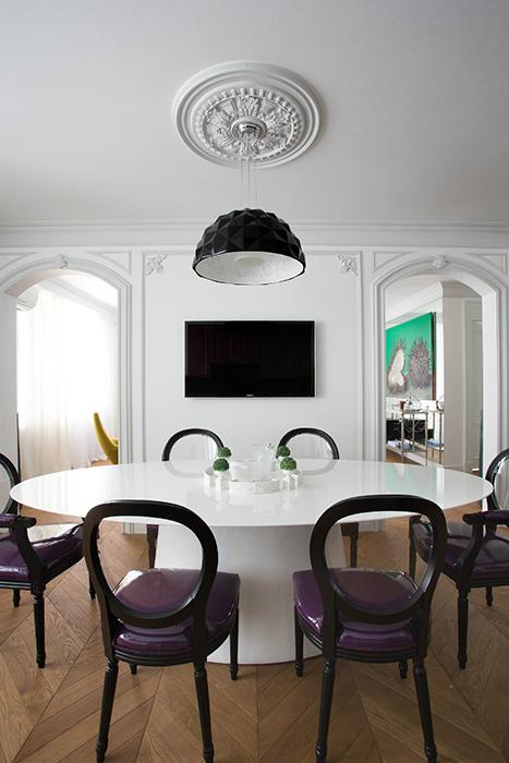 Квартира. столовая из проекта , фото №57642