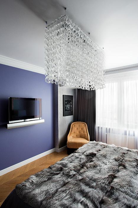Квартира. спальня из проекта , фото №36464