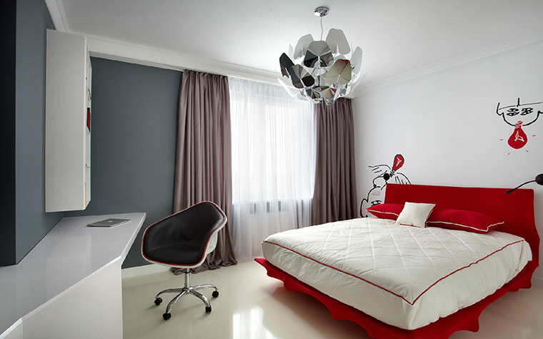 Фото № 36465 спальня  Квартира