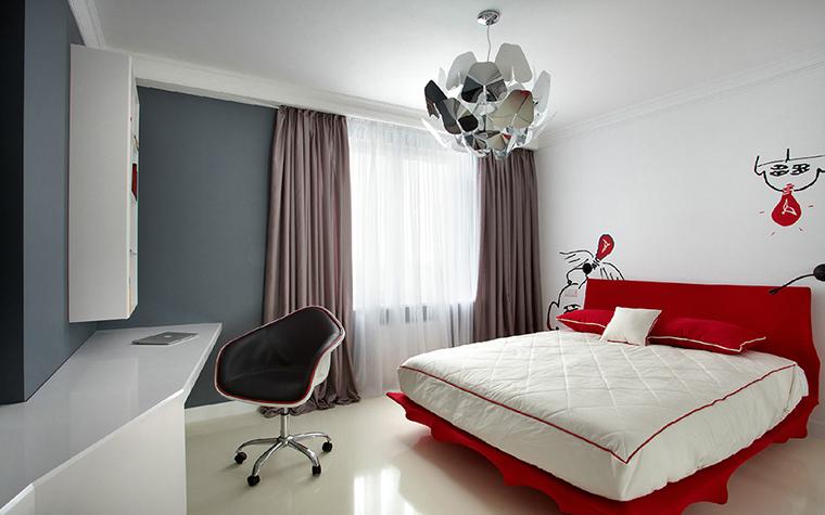 Квартира. спальня из проекта , фото №36465