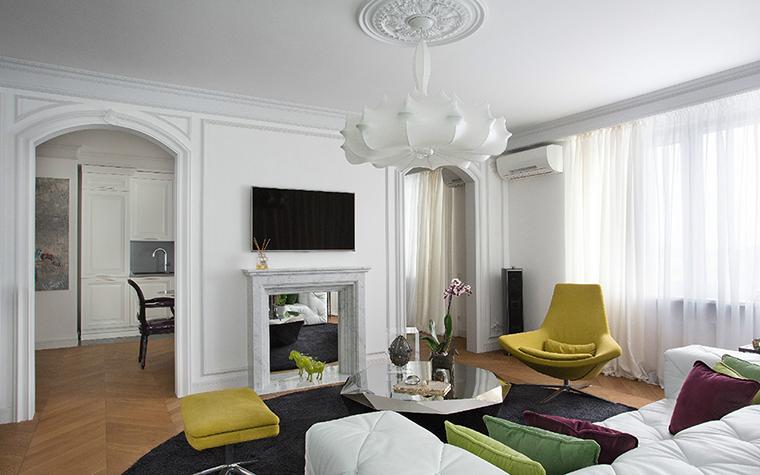 Фото № 36452 гостиная  Квартира
