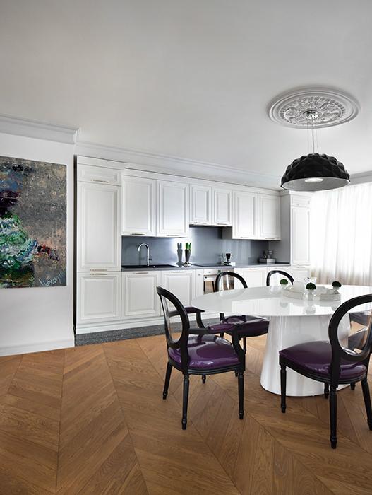 Квартира. столовая из проекта , фото №57638