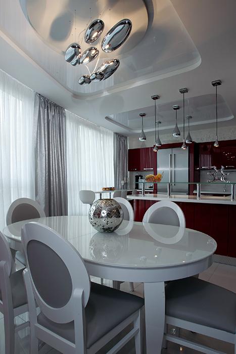 Фото № 36478 кухня  Квартира