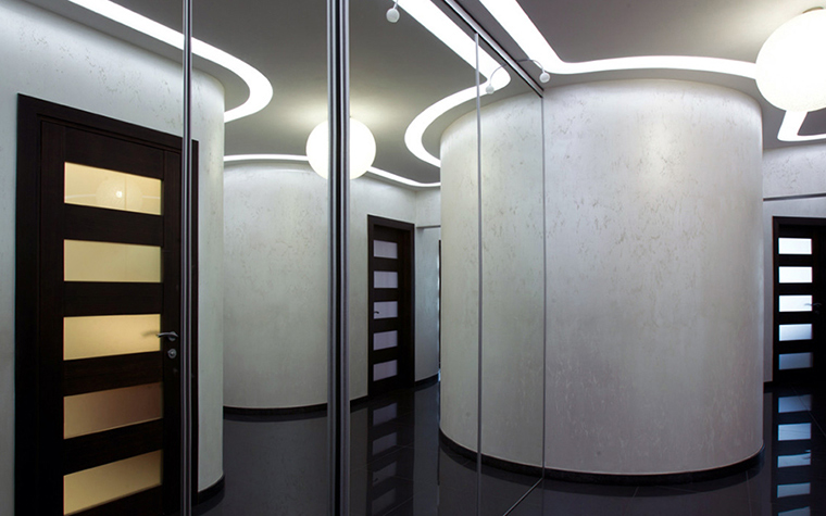 <p>Автор проекта: IConcept</p> <p>Головокружительный, закарнизный вариант подсветки!</p>