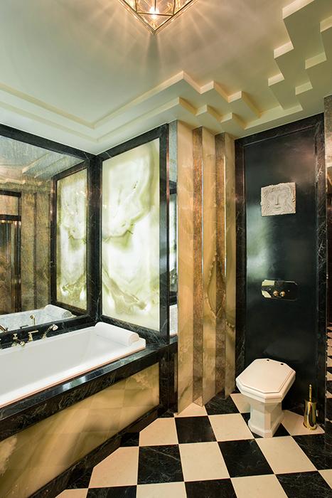 Квартира. ванная из проекта , фото №36504