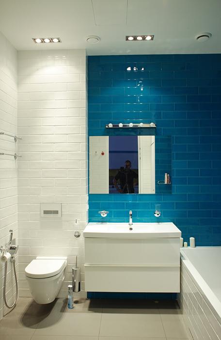 Квартира. ванная из проекта , фото №36541