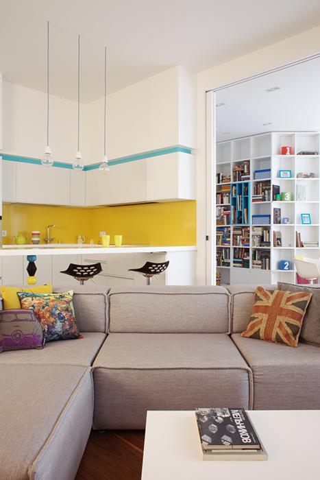 интерьер гостиной - фото № 36530