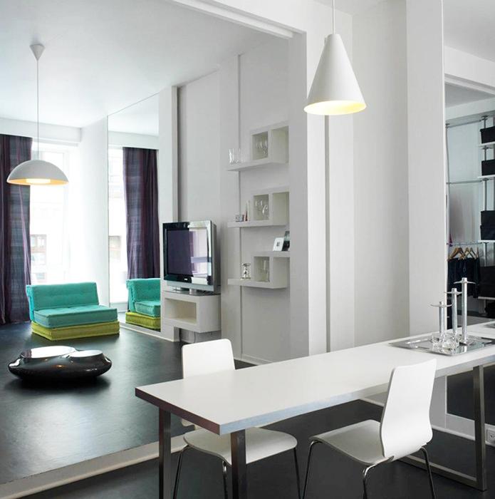 Квартира. столовая из проекта , фото №36547