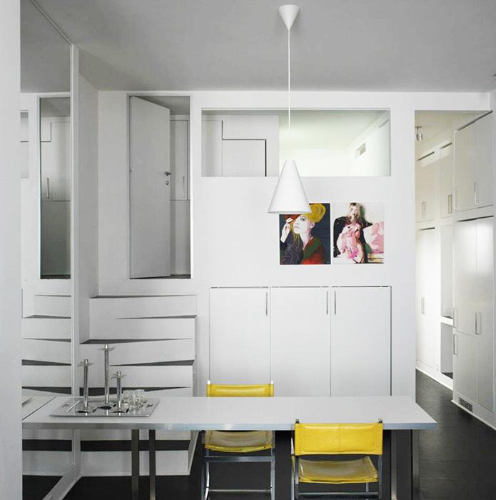 Квартира. столовая из проекта , фото №36548
