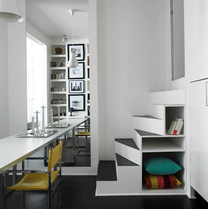 Квартира. столовая из проекта , фото №36549