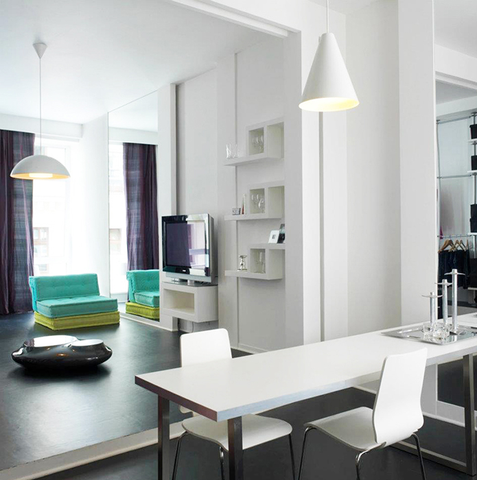 Квартира. столовая из проекта , фото №36550