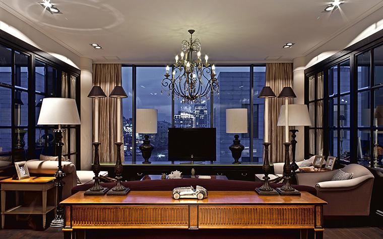 Квартира. гостиная из проекта , фото №36601