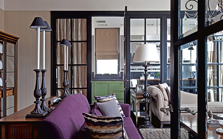 Квартира. гостиная из проекта , фото №36605