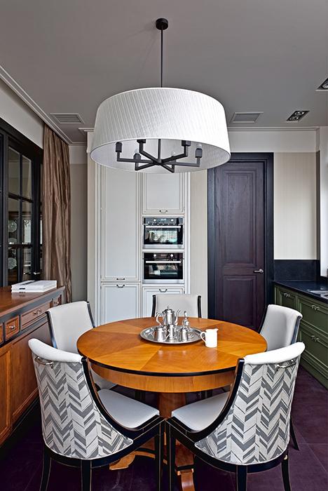 Квартира. столовая из проекта , фото №36624