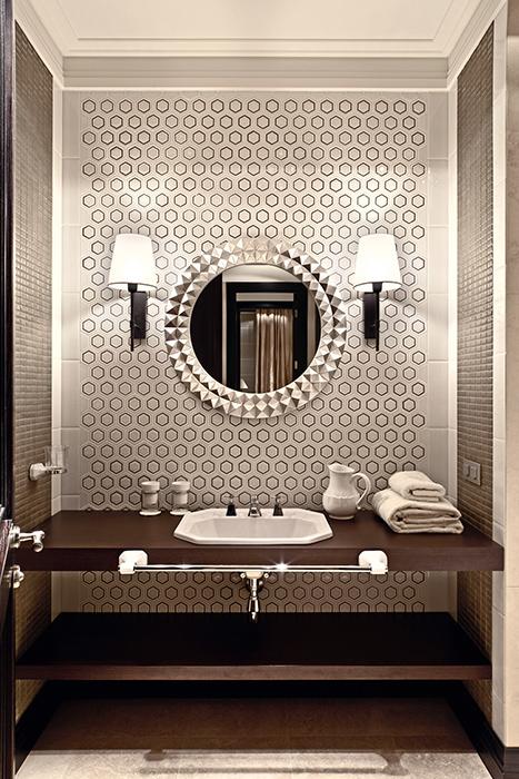 Квартира. ванная из проекта , фото №36608