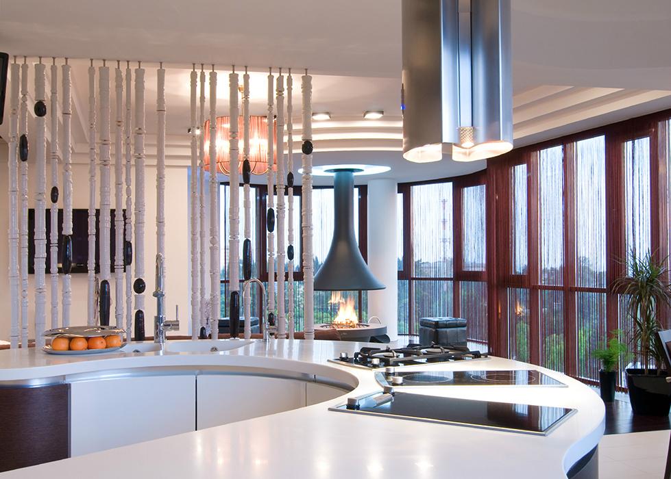 Квартира. кухня из проекта , фото №36634