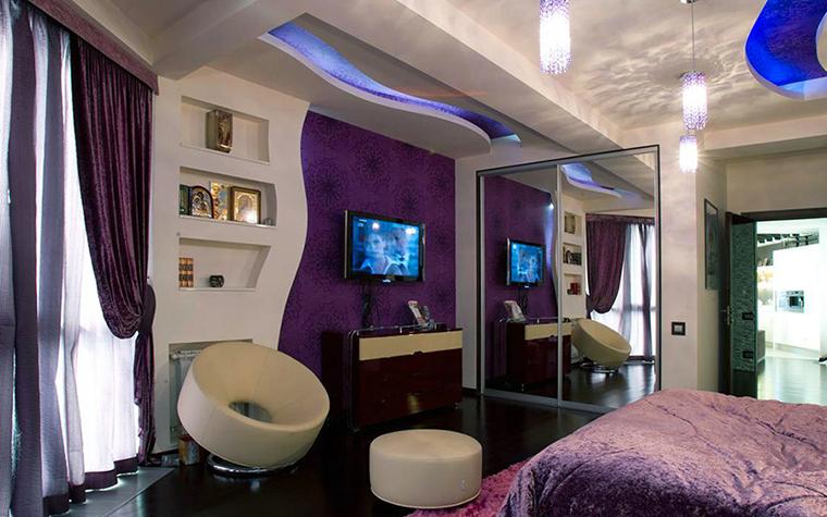 Квартира. спальня из проекта , фото №36640