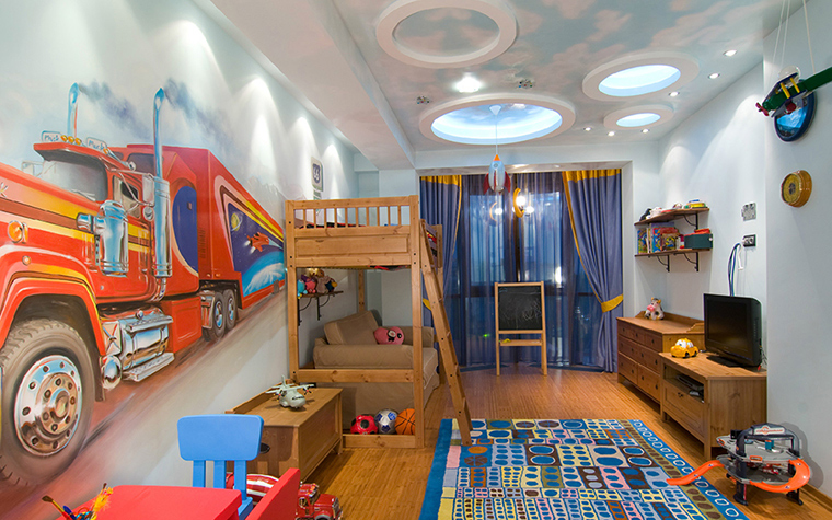 Квартира. детская из проекта , фото №36642
