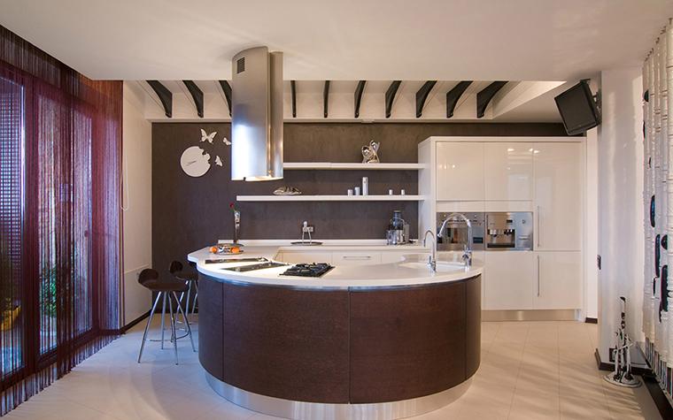 Квартира. кухня из проекта , фото №36636