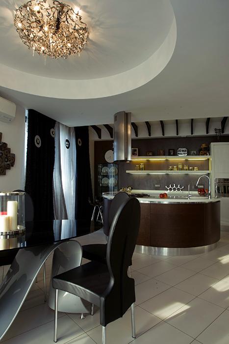 Квартира. кухня из проекта , фото №36639